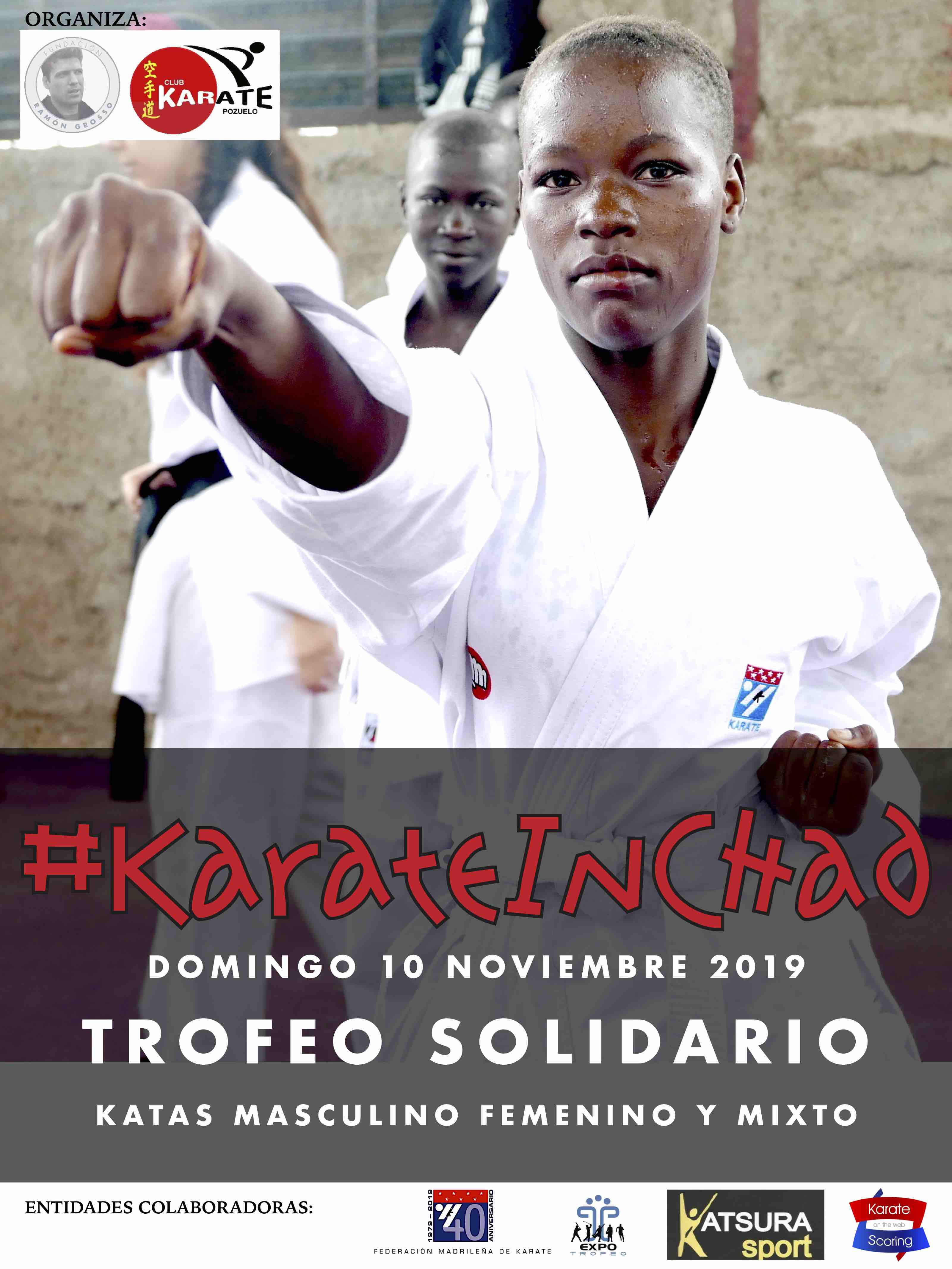 Trofeo solidario Karate in Chad 2019