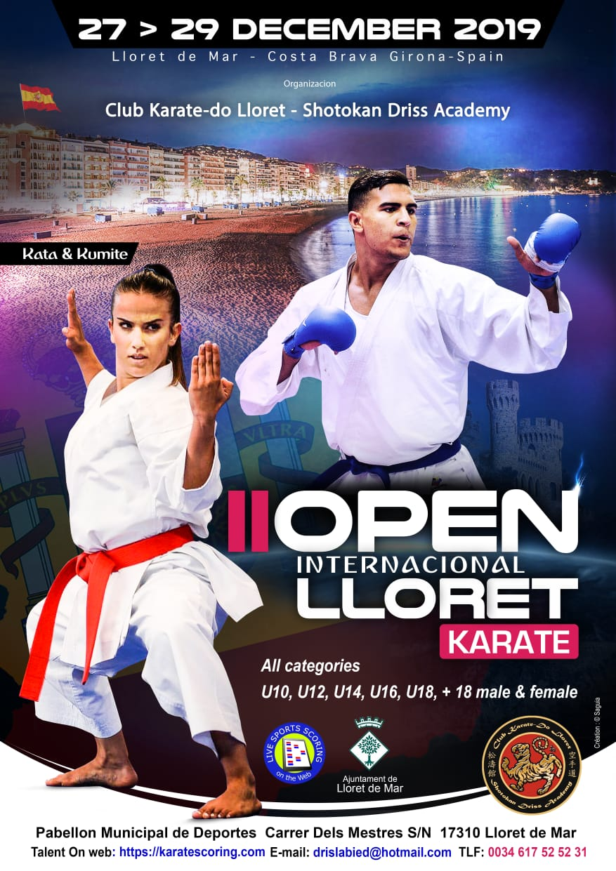 II International Open Lloret 2019