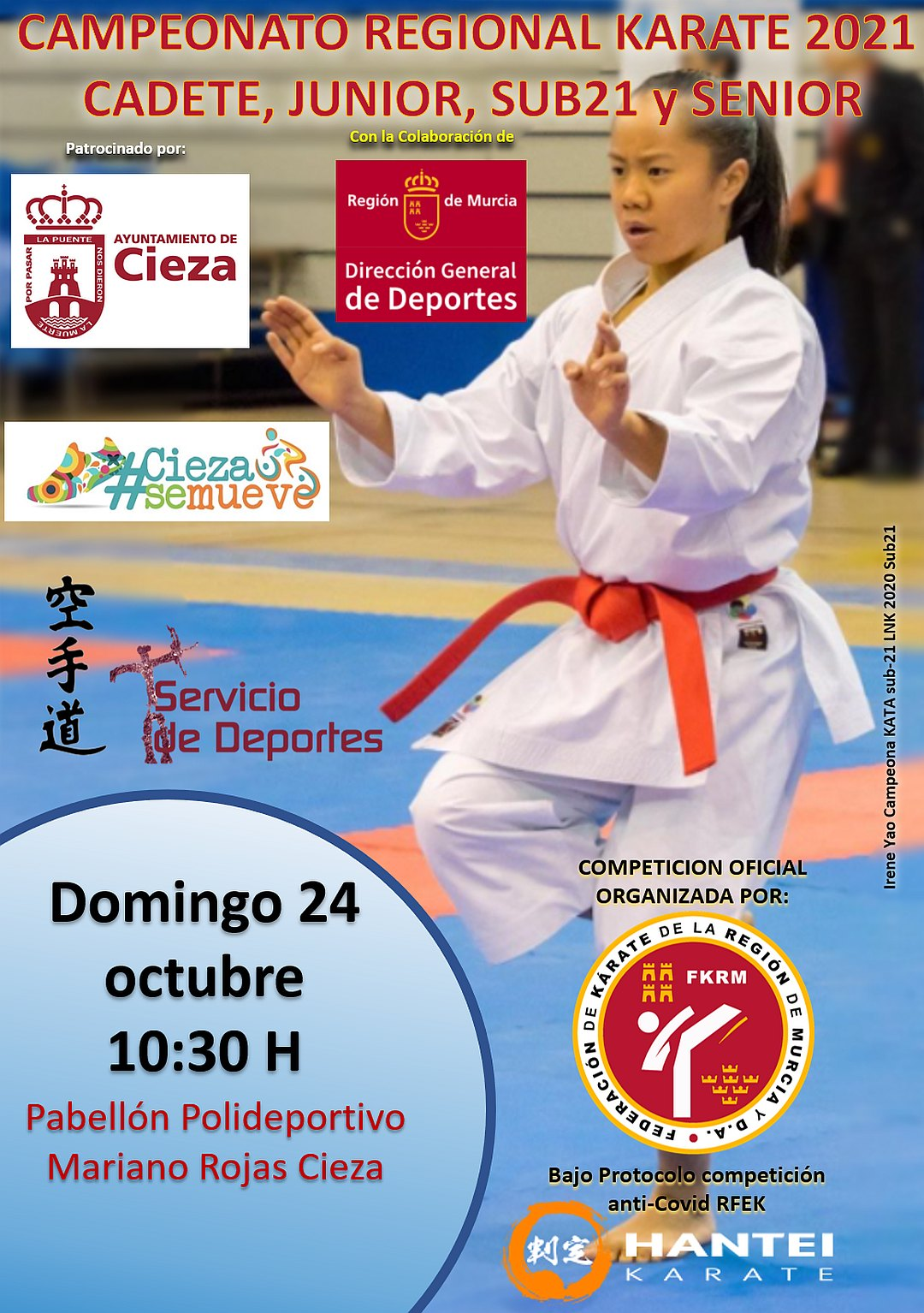 Campeonato de Murcia Cad-Jun-Sub21-Sen 2021